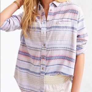 Urban Outfitters Aztec Flannel